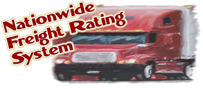 Nationwide Freight Rating System